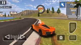 Police Drift Car Driving Simulator #8 Orange Luxury Car Android GamePlay FHD