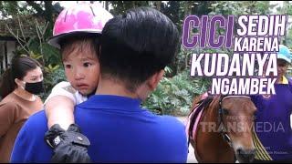 Cici Thalia Sedih Karena Kudanya Lagi Ngambek Gitu   DIARY THE ONSU (1/7/20) P1