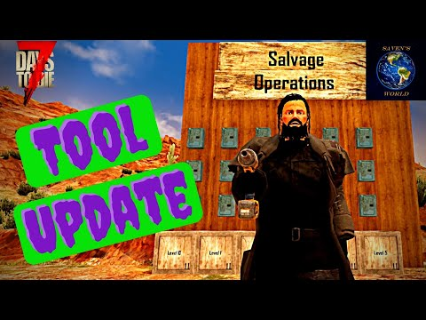 Salvage Operations Tutorial - 7 Days to Die [Alpha 19]