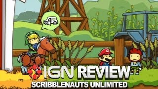 Scribblenauts Unlimited Video Review - IGN Reviews