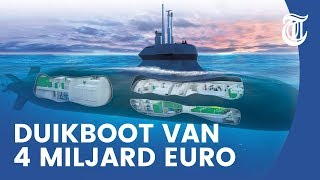 Nieuwe onderzeeboot Nederland: slim, stil en razendsnel