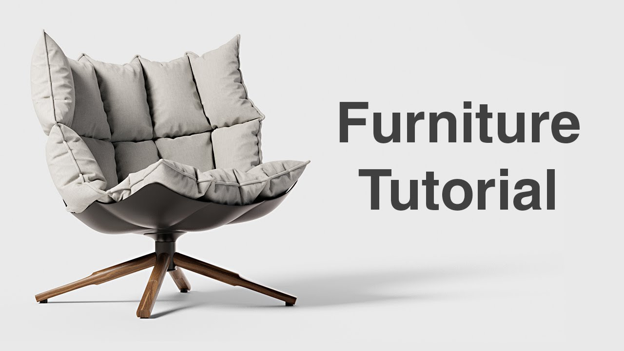 How to Make Furniture with Marvelous Designer - Beginner Tutorial - YouTube