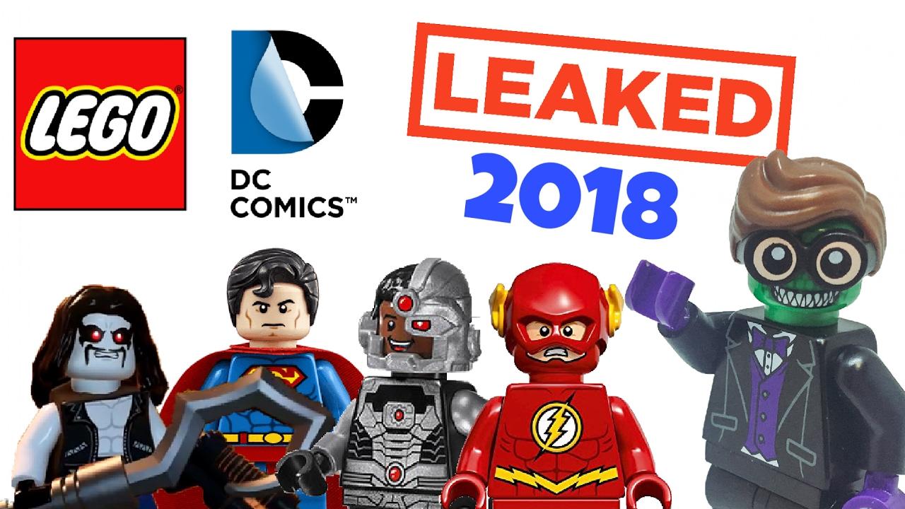 LEAKED Lego DC Superheroes 2018 Sets - YouTube