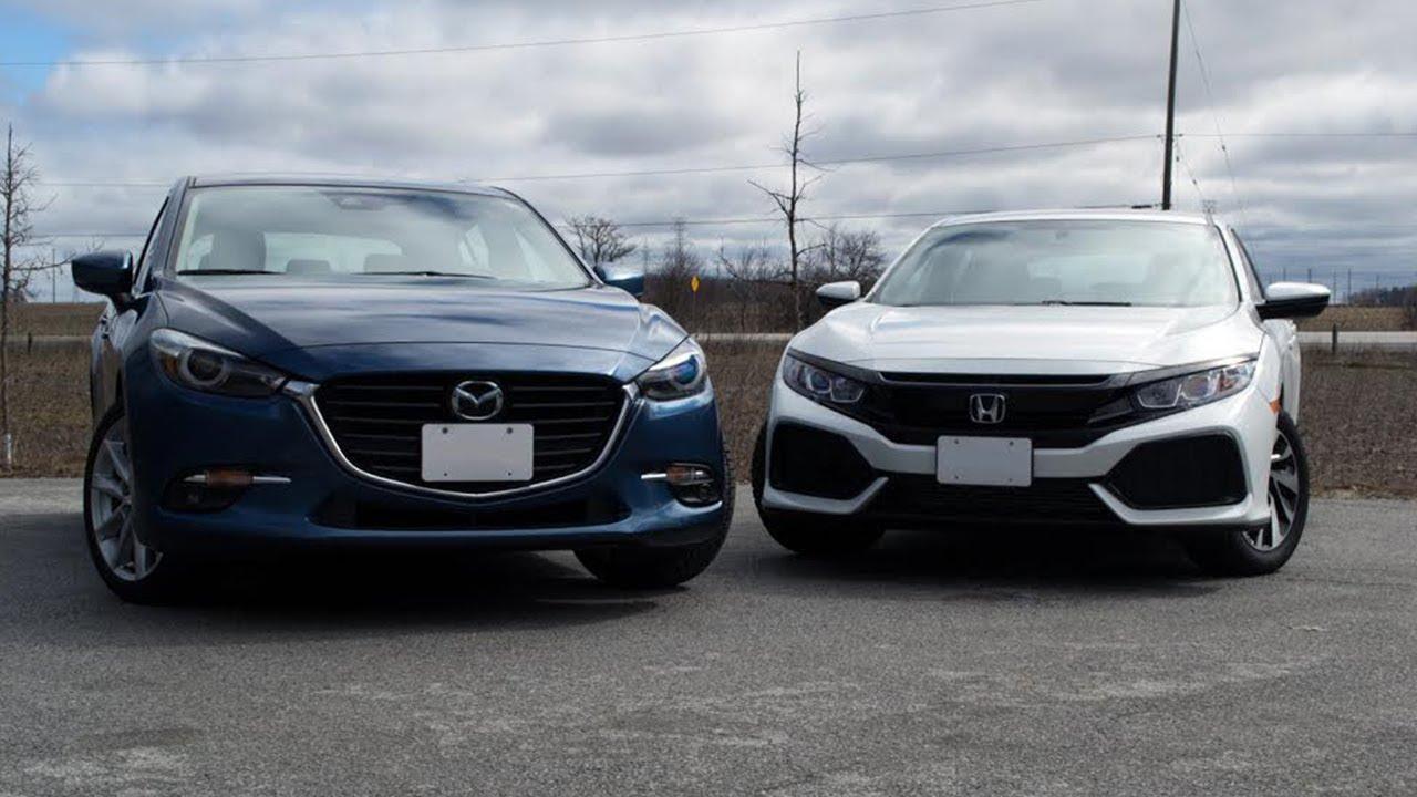 2017 Mazda 3 Vs Honda Civic