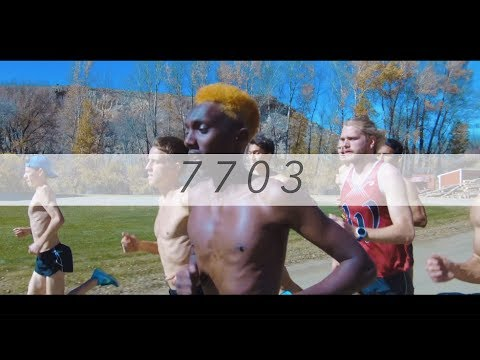 7703 ft. Cross Country at Western State Colorado University