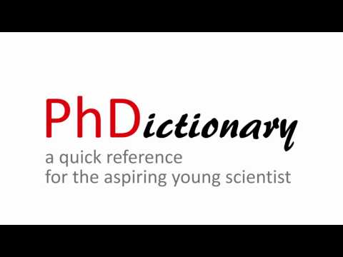 PhDictionary — a PhD student's guide to grad school (PhD humor)