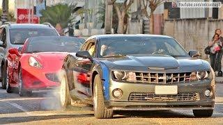Supercarros de Curitiba 6 - Camaro Burnout, Ferrari, Lamborghini, McLaren, Porsche & More!