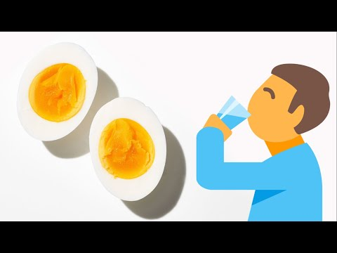 Should You Drink Water After Eating Eggs?