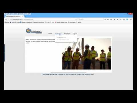 Employee Self-Service with Real-Time Connectivity to JD Edwards