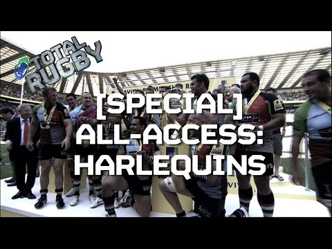 EXCLUSIVE: Harlequins Rugby gear up for new season | BEHIND THE SCENES