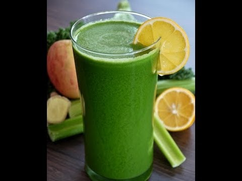 How to make Organic Kale and Apple Juice by Joyfully Organic