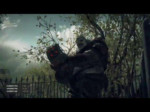 AMD Radeon Fury running Gears of War: Ultimate Edition PC benchmark