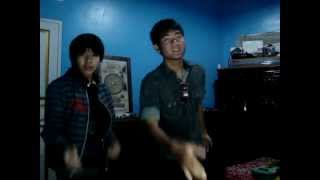 One Direction - What Makes You Beautiful ( version ryan and adi ).mp4
