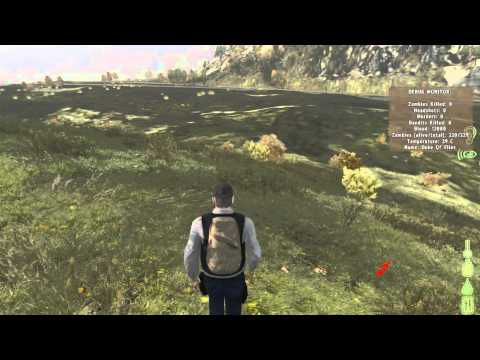 DayZ Tip 5 : Basic Character Controls And Chat