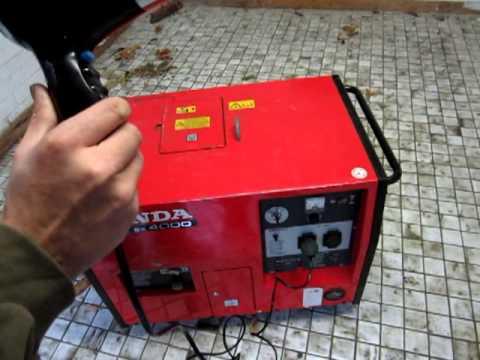 электростанция honda ex 4000 инструкция