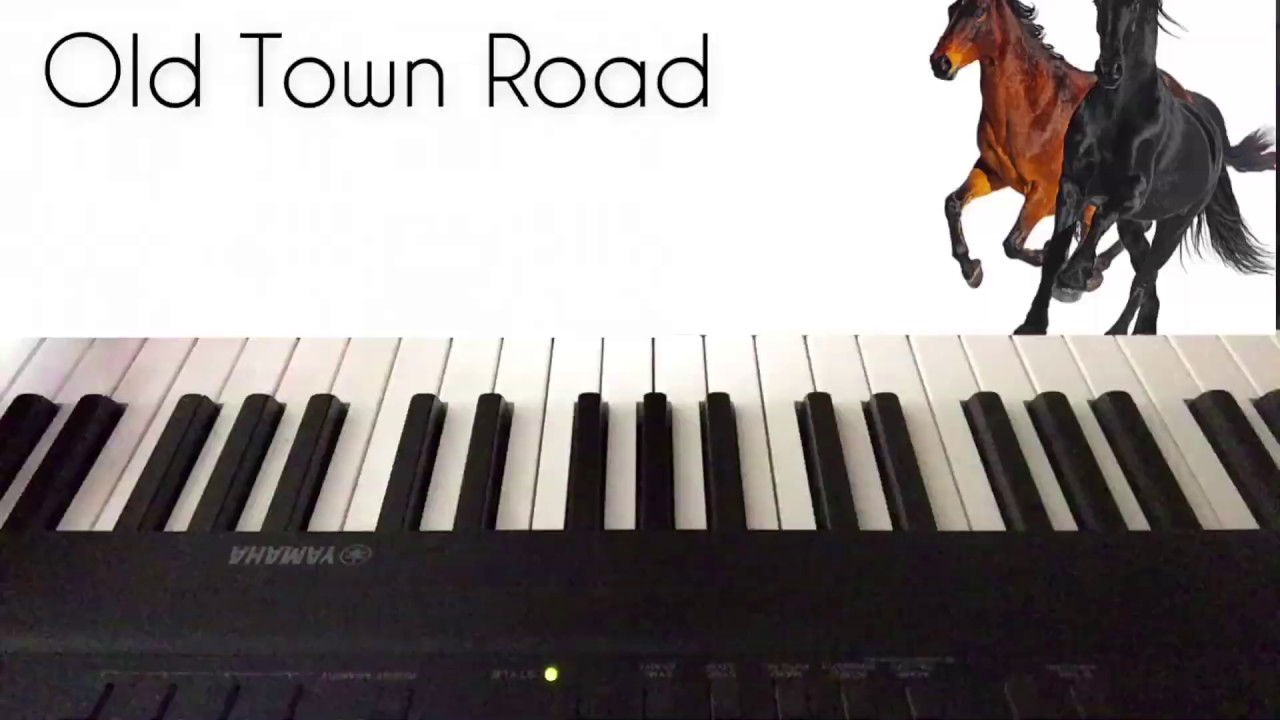 Old Town Road Piano Youtube