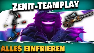 Freezing point zenite takes it right! | Fortnite Save the World