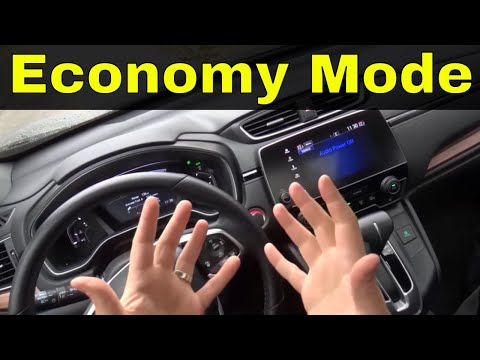 Driving A Honda CR-V In Economy Mode-Does It Make A Difference