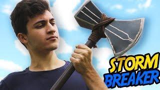COMO FAZER O MACHADO DO THOR DE VINGADORES  (StormBreaker)