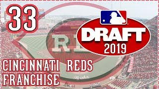 MLB The Show 18 Cincinnati Reds Franchise Ep. 33: 2019 DRAFT + Stats and Player Performance Updates