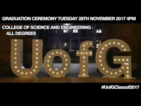 Winter Graduations - College of Science & Engineering Winter Graduations Tuesday 28th 4pm