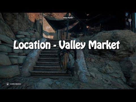 Assassin's Creed Origins: Location - Valley Market