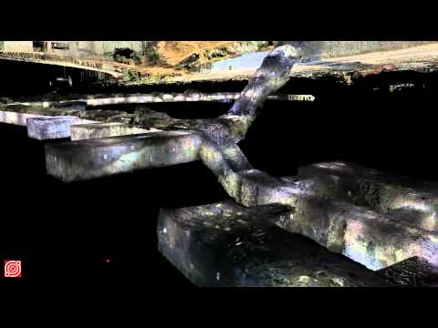 The Fort Bonifacio War Tunnel - 3D High Definition Survey