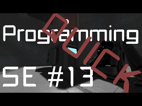 Space Engineers Programming QUICK #13 Rotor Move