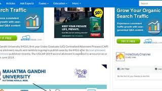 How To Register MGU CAP Online   Degree Allotment   Googdo