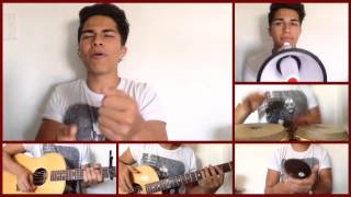 Alex Aiono - Rude by Magic! and You Da One by Rihanna Mashup (WITH CHALLENGE)