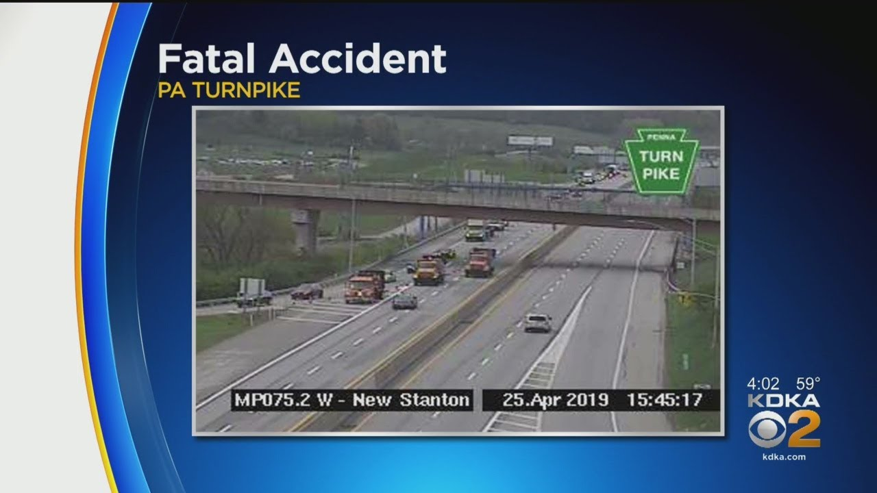 Pa  Turnpike Shut Down In Westmoreland Co  Due To Fatal Crash