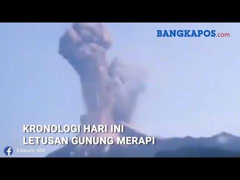 Kronologi Hari Ini Letusan Gunung Merapi - 동영상