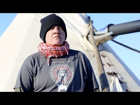 Standing Rock: A Nakota Iraq Veteran fighting for peace | The World on YouTube