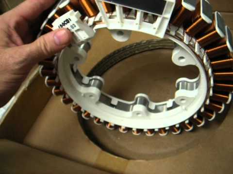 LG Washer Stator part 4417FA1994G has sensor too for front load washer