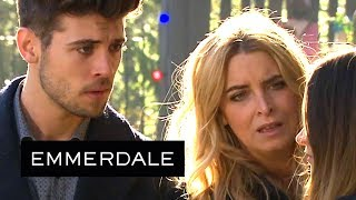 Emmerdale - Tom Forces Debbie to Choose Between Him and Her Family