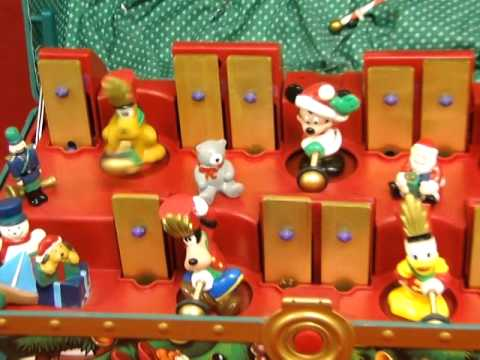 Mr. Christmas Mickey's Musical Toy Chest   YouTube