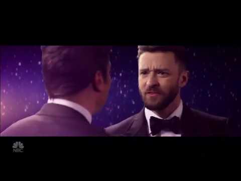 Justin Timberlake and Jimmy Fallon Remake 'La La Land'  Golden Globes 2017