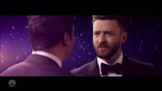 Justin Timberlake and Jimmy Fallon Remake 'La La Land'  Golden Globes 2017