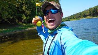 Under $25 Walmart Fishing Challenge - Rod/Reel Included!!