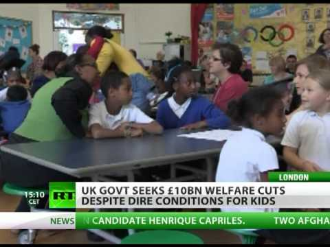 Austerity Squeeze: UK seeks big welfare cuts despite child poverty