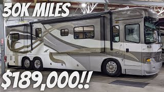 RARE 37' COUNTRY COACH ALLURE 470 WITH TAG AXLE FOR SALE IN OREGON