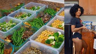 7 Day Vegan Meal Prep  2019 Get Fit Challenge
