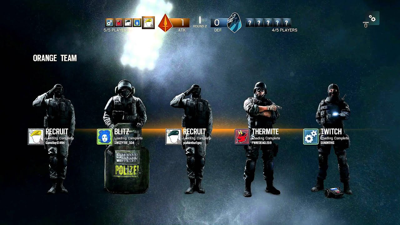 how to play multiplayer on rainbow six siege ps4