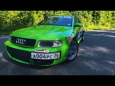 Стресс-тест 850 л.с. Audi RS4 TURBO. Облажался на гонках