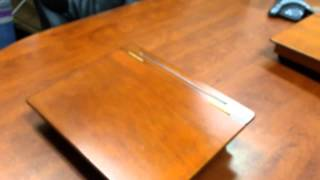 Old School Wood Lap Desk