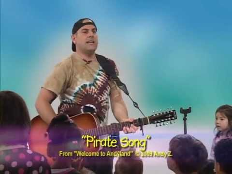 Sing & Dance With Andy Z- Pirate Song