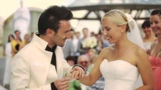 Выездная регистрация брака: эффектный выход жениха!
