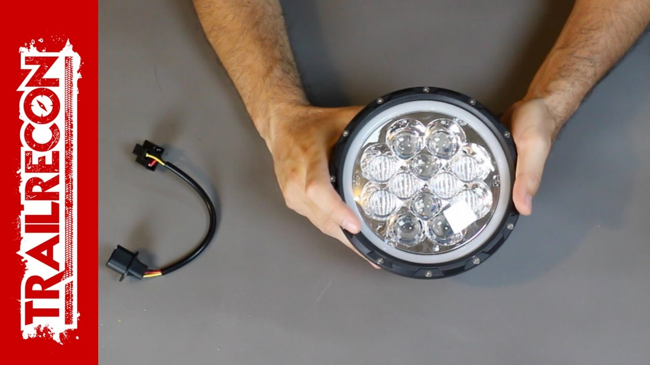 Auxbeam 7 Round Led Headlight Review With Atmosphere