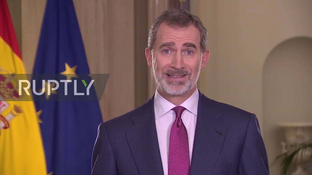 Spain: King Felipe VI addresses the country asking for unity and solidarity