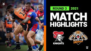 Wests Tigers spoil Pearce party with first win of 2021   Round 3, 2021   Match Highlights   NRL